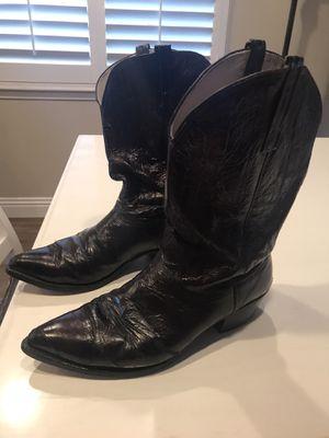 Nocona Eel Skin Cowboy Boots for Sale in Norco, CA