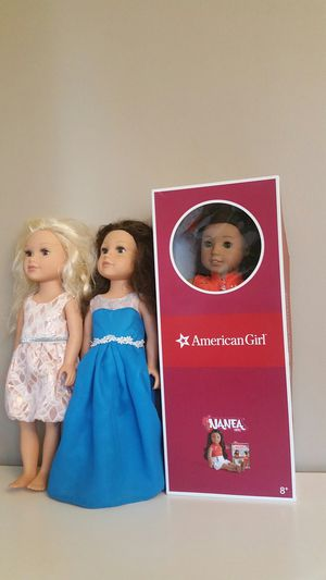 New American girl doll and accessories for Sale in Clarksburg, MD