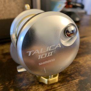 Shimano Talica 10II 2 Speed Reel for Sale in Irvine, CA