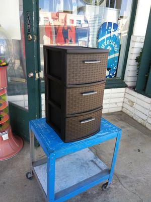 3 Drawer Plastic Storage Organizer for Sale in Escondido, CA