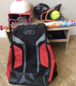 Children's Softball Gear - Used/Excellent Condition for Sale in Scottsdale, AZ