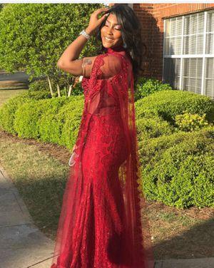 Red Crystal Prom Formal Dress for Sale in Atlanta, GA