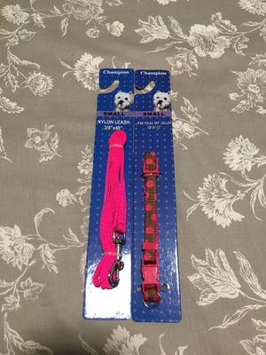 Nylon leash and collar for Sale in Chula Vista, CA