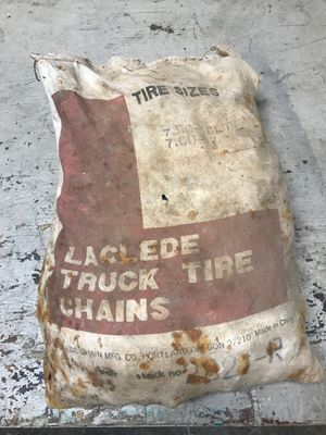 Brand new heavy duty truck tire chains for Sale in Beaverton, OR