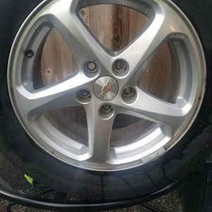 "4 16"" 2017 Malibu Rims Like New 5x115 for Sale in Orting, WA"