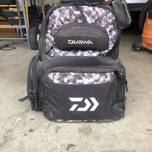 Daiwa fishjng Backpack for Sale in Vancouver, WA