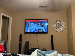 LG 50 inch plasma tv with double remote for Sale in Greenville, MS