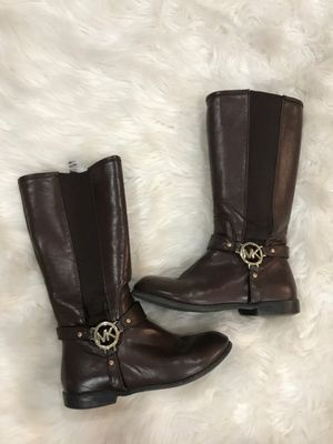 Girls MK Brown Boots size 3 for Sale in Kent, WA
