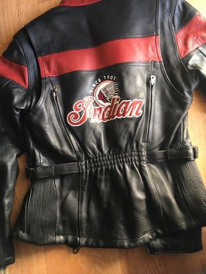 Leather biker jacket & chaps for Sale in Las Vegas, NV