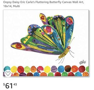 Oopsy daisy wall canvas 18x14 for Sale in Columbus, OH