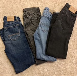 Boys size 10 jeans Abercrombie for Sale in Windermere, FL