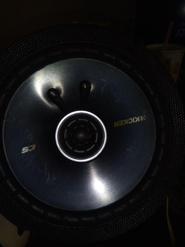 Kicker door speakers