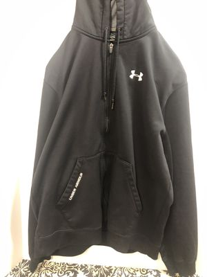 Mens Large Heavy Weight hoodie Under Armor for Sale in Houston, TX