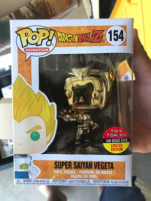 Dragon Ball Z Gold SS Vegeta Toy Tokyo Exclusive for Sale in Ceres, CA