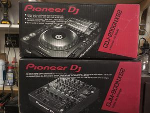 Pioneer dj equipment brand new in box and booth (custom DJ table) for Sale in Queens, NY