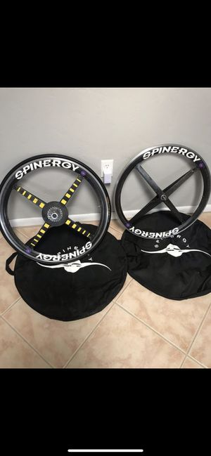 Spinergy 700c carbon fiber wheelset for Sale in Hialeah, FL