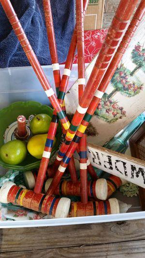 Antique croquette set for Sale in Tempe, AZ