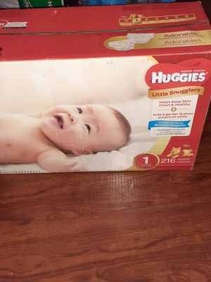 Huggies little snugglers size 1 diapers for Sale in Vallejo, CA