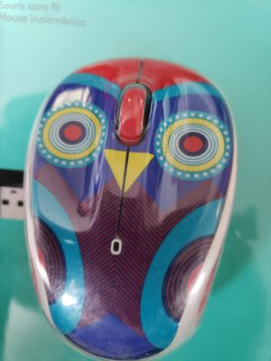 Logitech M325c Ophelia Owl Wireless Optical Mouse for Sale in Louisville, KY