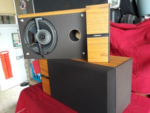 PRICE DROP AGAIN!!!! Vintage Bose 6.2 stereo everywhere bookshelf speakers for Sale in Joliet, IL