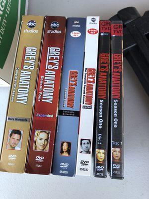Grey's Anatomy seasons 1-5 dvd for Sale in Chula Vista, CA