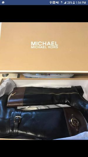 Michael Kors Riding Boots size 6 like NEW! Price is negotiable if reasonable for Sale in Rockville, MD