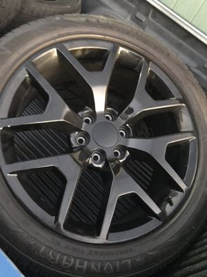 """22"""" 6 lug GMC Sierra Chevy Silverado rims for Sale in Ontario, CA"""