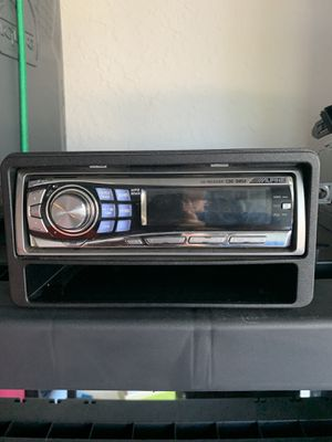 Alpine car stereo with CD player 📻 💿 for Sale in Palm Harbor, FL