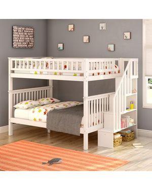 Full over full bunk bed for Sale in Delray Beach, FL