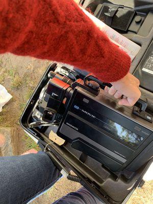Amazing Magnavox vintage vhs movie camcorder newvicon for Sale in Santa Cruz, CA