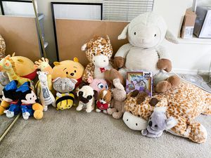 Plushies, Stuffed Animals, Teddy Bears, Toys, Puzzles, Pillows, Games for Kids Children for Sale in Beaverton, OR