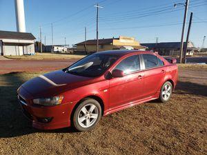 2009 Mitsubishi lancer for Sale in Merkel, TX
