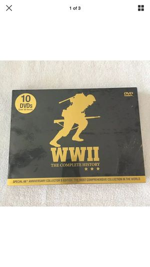 WWII the Complete History 10 dvds 30 hours for Sale in Springfield, NJ