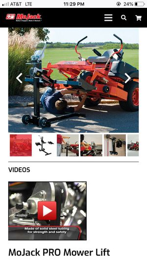 Riding lawn mower Jack for Sale in Woodburn, OR