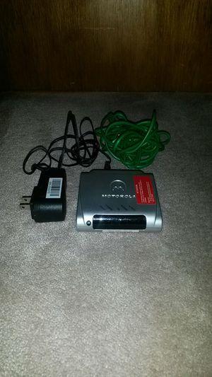 Motorola modem for Sale in Oak Lawn, IL