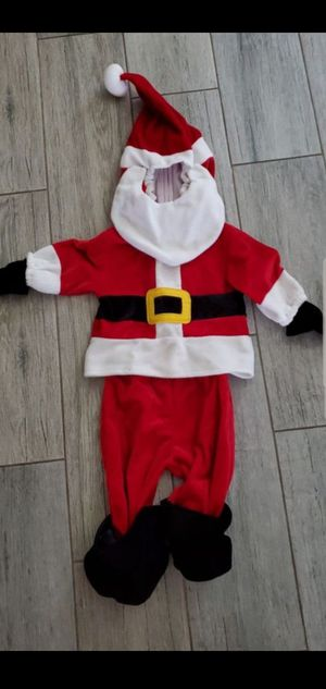 Baby Santa costume size 3-6 months for Sale in Mesquite, TX