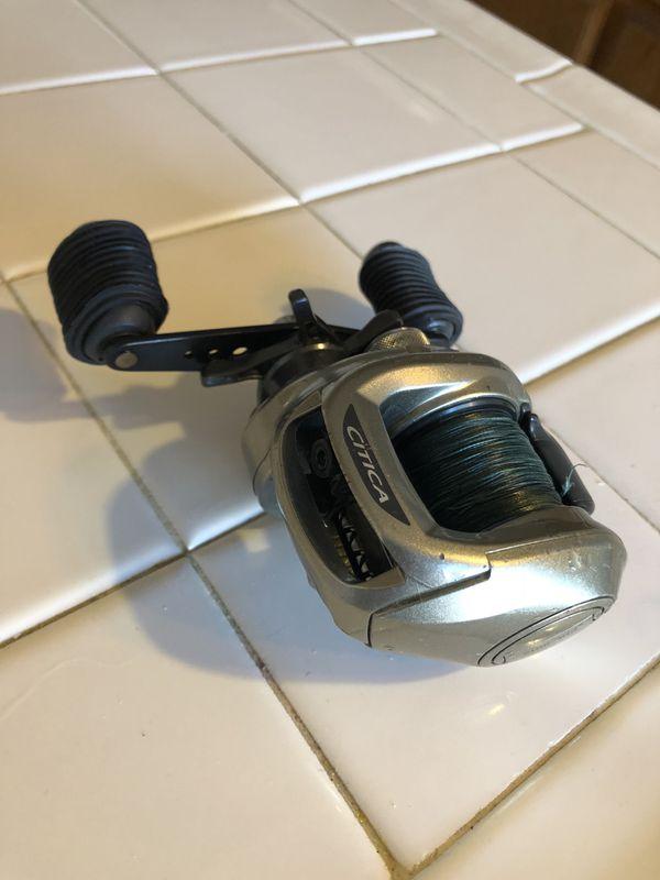 Shimano Citica baitcasting reel 200e Bass Fishing