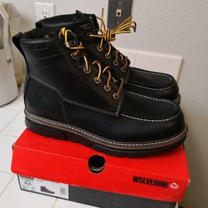 Brand new Wolverine Soft Toe Work boots Size 9.5 for Sale in Riverside, CA