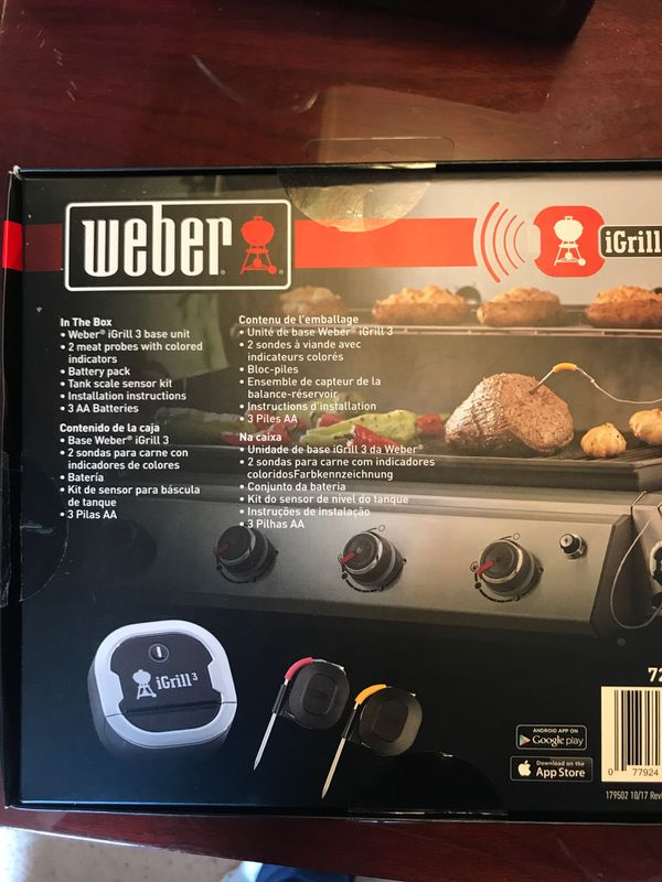 Weber 7204 iGrill 3 Smart Grill Thermometer