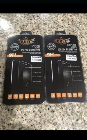 Tempered glass screen protector for iPhone XR and iPhone 7plus/8plus $5 each firm for Sale in Lynwood, CA