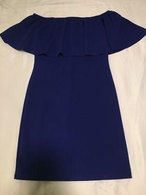Blue Strapless dress - juniors size large for Sale in Mesa, AZ