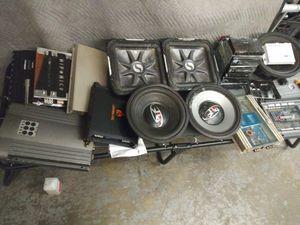 Car audio bundle for Sale in Sacramento, CA