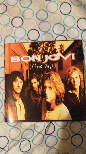 Bon Jovi CD with lyrics for Sale in Pineville, LA