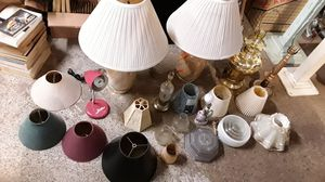lamps & lamp shades $15 for Sale in Evansville, IN