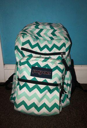 Teal Zig Zag Jansport Backpack for Sale in Los Angeles, CA