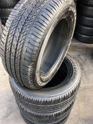255/55R18 Bridgestone Run Flats !! (4 for $350) for Sale in Whittier, CA
