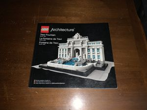 LEGO 21020 Architecture Trevi Fountain Instructions Manual ONLY NO Bricks for Sale in Villa Park, CA