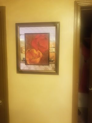 Mirror Flower Wall Decor 20x30 for Sale in College Park, GA