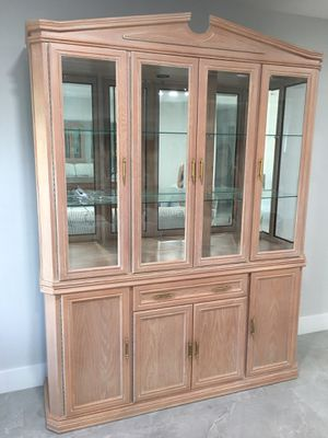 China closet/Buffet (bottom unit has finished top) for Sale in Pembroke Pines, FL