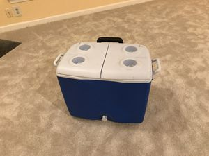 Cooler with handle and wheels for Sale in Fairfax, VA